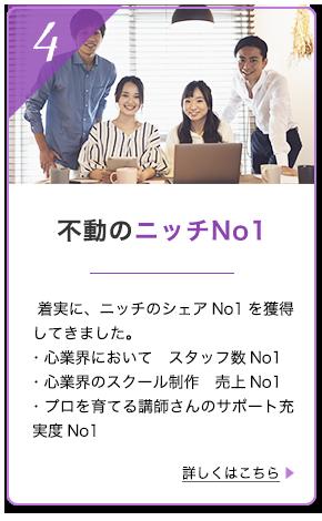 不動のニッチNo.1